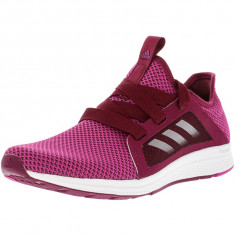 Adidas dama Edge Lux Mystery Ruby / Bahia Magenta Cloud White Ankle-High Running Shoe, 43 1/3