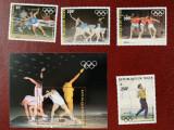 Niger - Timbre sport, jocurile olimpice 1984, nestampilate MNH, Nestampilat