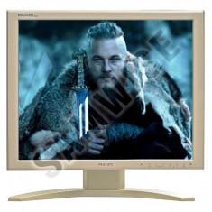"""Monitor LCD Philips 19"""" 190S, Grad A, 1280 x 1024, 8ms, DVI, VGA, Cabluri..."""