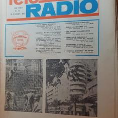 revista tele-radio saptamana 15-21 august 1982