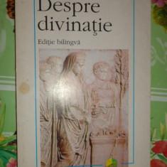 Despre divinatie 260pagini- Marcus Tullius Cicero