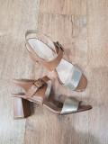 LICHIDARE STOC! Sandale dama noi piele naturala foarte comode si usoare 36,5-37