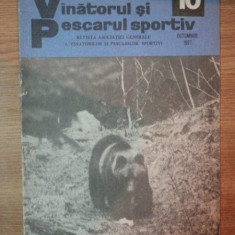 REVISTA ''VANATORUL SI PESCARUL SPORTIV'', NR. 10 OCTOMBRIE 1977