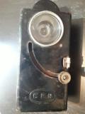 Lanterna CFR veche romaneasca