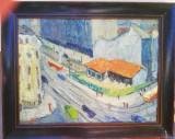 Tablou pictură Dumitru Icodim, Peisaje, Ulei, Avangardism