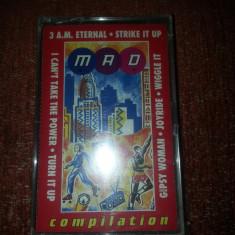 Mixmasters caseta audio sigilata-Snap/KLF/Roxette/Pet Shop Boys/Technotronic..