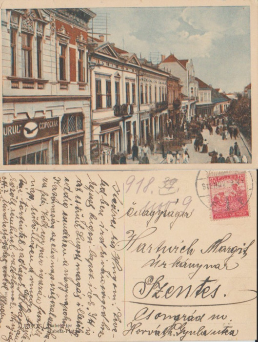 Lugoj 1918 - Piata Izabela