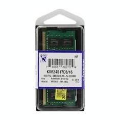 Memorie laptop Kingston  SODIMM 16GB DDR4 2400 MHz CL17, sigilate, garantie