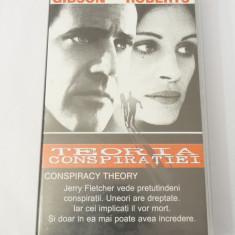 Caseta video VHS originala film tradus Ro - Teoria Conspiratiei