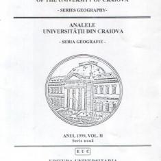 Analele Universitatii din Craiova - Seria Geografie, anul 1999, vol. 2