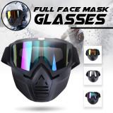 Cumpara ieftin Masca + ochelari SKI SNOWBOARD MOTOCICLETA ochelari colorati detasabili reglabil