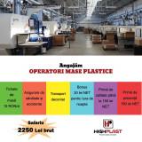 Angajam Operator Mase Plastice