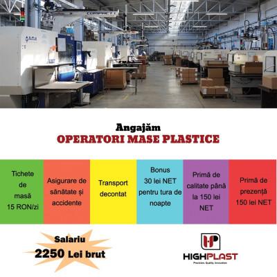 Angajam Operator Mase Plastice foto