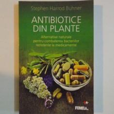ANTIBIOTICE DIN PLANTE , ALTERNATIVE NATURALE PENTRU COMBATEREA BACTERIILOR REZISTENTE LA MEDICAMENTE de STEPHEN HARROD BUHNER , 2012