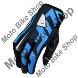 MBS Manusi motocross Ufo Plast Blaze, albastre, M, Cod Produs: GU04428KM