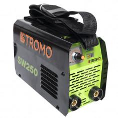 Aparat de sudura tip invertor Stromo SW250, 250 A, curent continuu, electrozi 1.6 - 4 mm