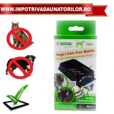 Free Mobile – Aparat portabil anti caini si pisici
