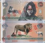 2006, 1.000 shillings (P-CS1) - Somaliland - stare UNC!  SPECIMEN!!!!