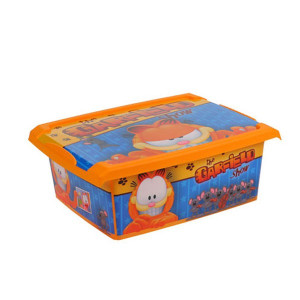 Cutie de depozitare Garfield 10L cu capac OKT