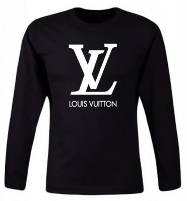Bluza barbateasca Louis Vuitton Neagra COD B524 foto