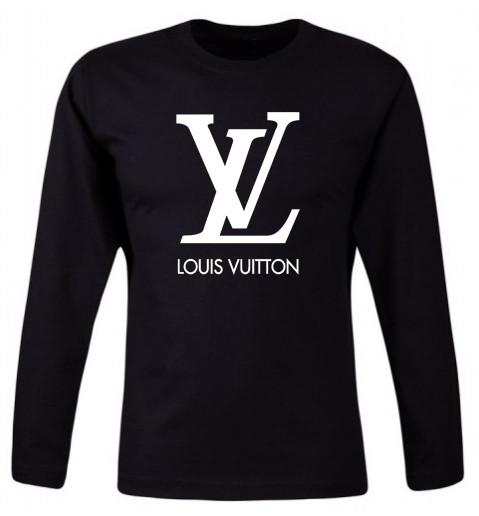 Bluza barbateasca Louis Vuitton Neagra COD B524