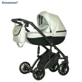 Cumpara ieftin Krausman - Carucior 3 in 1 Mirage Swift Silver LIMITED EDITION
