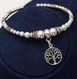 Cumpara ieftin Bratara Din Argint Lucrata Manual-Copacul Vietii--- Arg318