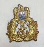 Insigna Militara - Ofiter MARINA - Coifura - insemn cascheta - cuc