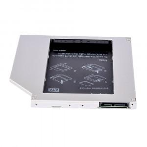 Adaptor HDD/SSD Caddy OEM pentru unitati optice 9.5 mm SATA2