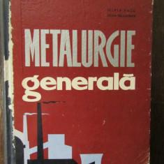 METALURGIE GENERALA-SILVIA VACU