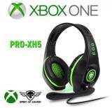 Casti Gaming Spirit of Gamer PRO-XH5, Microfon, Xbox One (Negru/Verde)