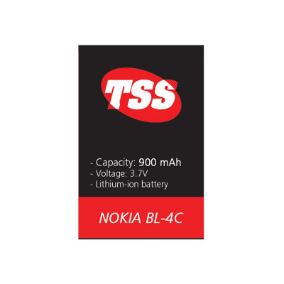 Acumulator NOKIA 6100 / 6101 / 5100 - BL-4C (900 mAh) TSS foto