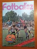 Revista fotbal 1982-sportul studentesc,m.lucescu,n.dobrin,m. radulescu,ion voica