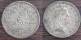 (A109) MONEDA DIN ARGINT ROMANIA - 100 LEI 1932, REGELE CAROL II