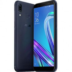 Telefon Mobil Asus ZenFone Max M1 ZB555KL, Procesor Octa-Core 1.4GHz, IPS Capacitive touchscreen 5.5, 3GB RAM, 32GB Flash, 4G, Dual Sim, Android, Alba