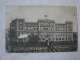 Carte postala circulata in 1914 - BUDAPESTA - Academia militara marina
