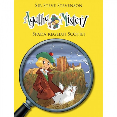 Agatha Mistery - Spada Regelui Scotiei - Sir Steve Stevenson foto