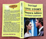 Love story. Singura iubire. Editura Orizonturi, 2012 - Erich Segal