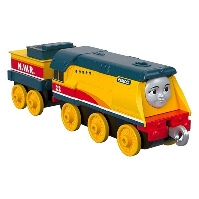 Locomotiva metalica Rebecca cu vagon Thomas si Prietenii foto