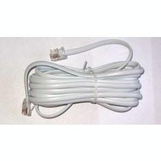 Cablu telefon 2m alb