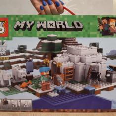 NOU/SIGILAT - Set de 310 piese tip lego Minecraft - My World SY 998