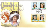 THE QUEEN MOTHER UNION ISLAND GRENADINES OF ST.VINCENT 1985 FDC