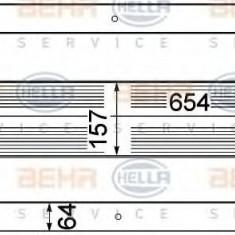 Radiator intercooler NISSAN X-TRAIL (T31) (2007 - 2013) HELLA 8ML 376 762-191