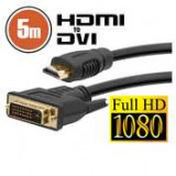 Cablu DVI-D / HDMI • 5 mcu conectoare placate cu aur ManiaMall Cars