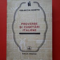 PROVERBE SI CUGETARI ITALIENE × Colectia Cogito