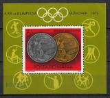 România - 1972 - LP 806 - Olimpiada de la Munchen - coliță dantelată MNH, Nestampilat