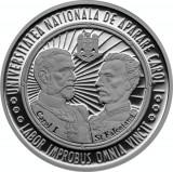 Moneda Romania 10 Lei 2014 - PROOF ( 125 ani Scoala Superioara de Razboi )