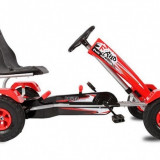 Kart cu pedale si roti gonflabile Full Ahead Speed Red