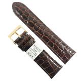 Cumpara ieftin Curea Ceas Maro Inchis Piele Naturala Nagata 18mm 20mm 22mm WZ1525