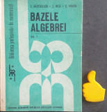Bazele algebrei, vol. 1 C. Nastasescu, C. Nita, C. Vraciu